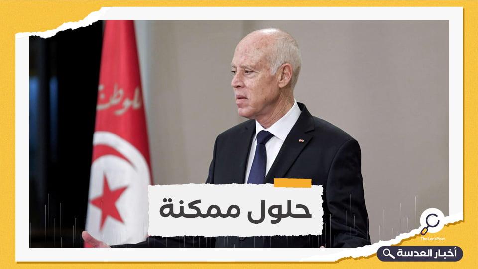 الرئيس التونسي يبدي انفتاحه على الحوار لحل الأزمة السياسية