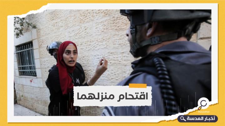 الاحتلال يعتقل الناشطين المقدسين منى ومحمد الكرد