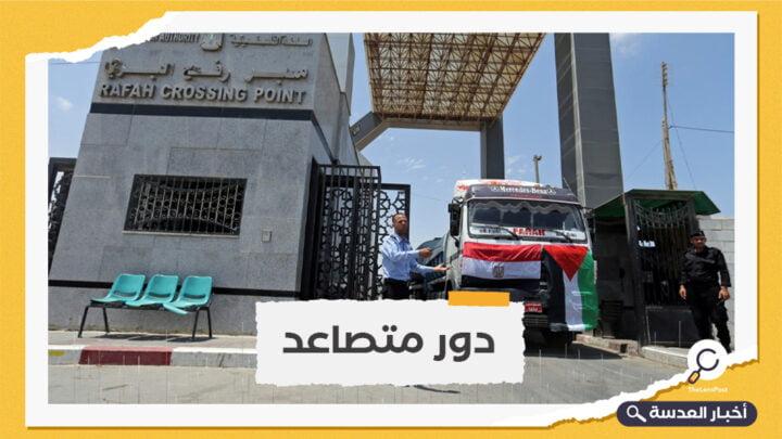 آليات مصرية تصل غزة الخميس لإزالة ركام المباني المدمرة
