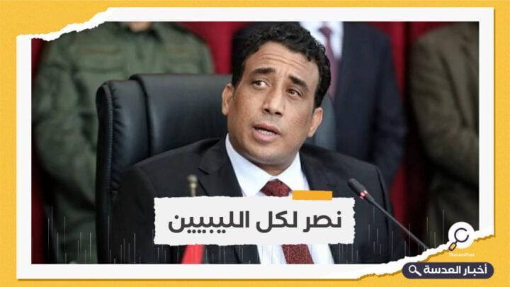المنفي يؤكد ضرورة البدء فورًا في التحضير للانتخابات الليبية