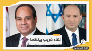اتصال بين السيسي ورئيس وزراء الكيان الصهيوني