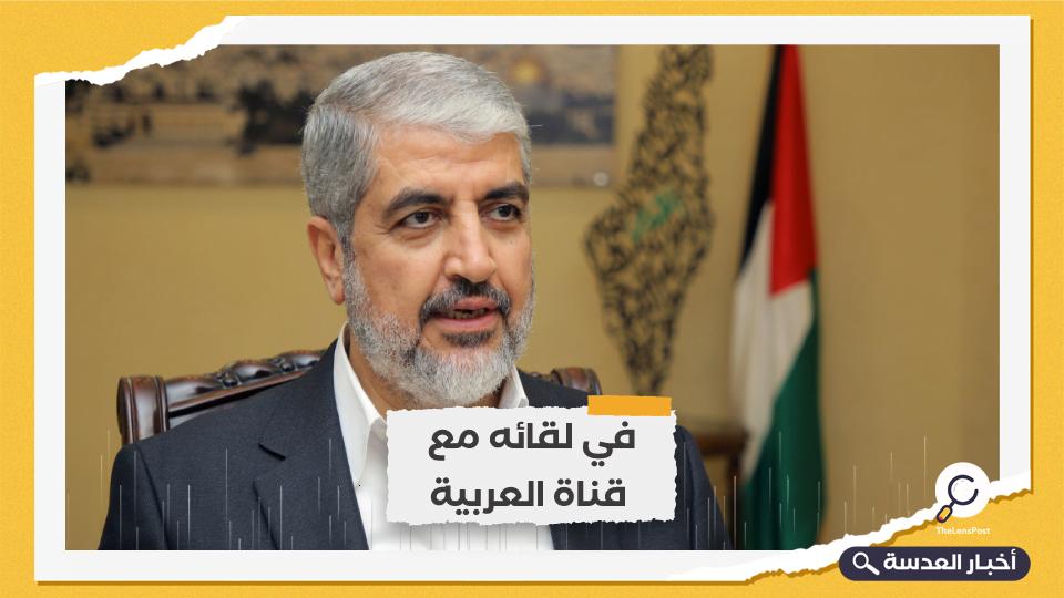 مشعل يدعو السعودية لإطلاق سراح المعتقلين الفلسطينيين لديها