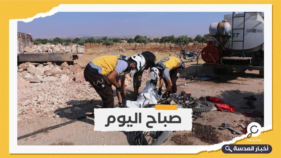 هجمات النظام السوري على إدلب تودي بحياة 9 مدنيين