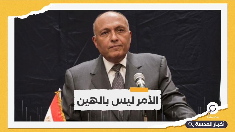 شكري بخصوص جلسة مجلس الأمن حول سد النهضة: توقعاتنا لابد أن تكون في حدود