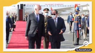 """الرئيس التونسي يبحث مع السيسي وزودي ملف """"سد النهضة"""""""
