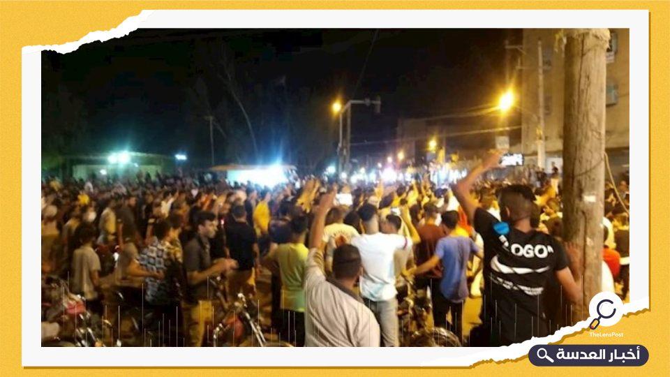 الإيرانيون في خوزستان يحتجون على نقص المياه