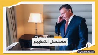 العاهل الأردني والرئيس الصهيوني يجريان محادثات بعد اتفاق المياه