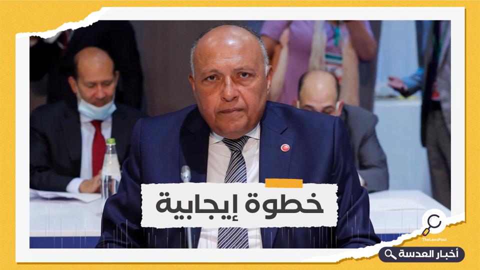 شكري يشيد بالخطوات التركية لتطبيع العلاقات بين القاهرة وأنقرة