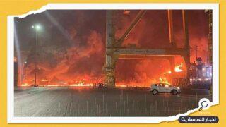 انفجار مدوٍّ يهز سماء دبي