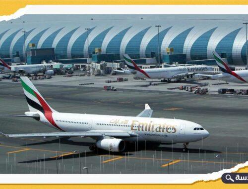 طائرتان خليجيتان تصطدمان ببعضهما في مطار دبي
