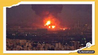 سماع دوي انفجار ضخم في طهران