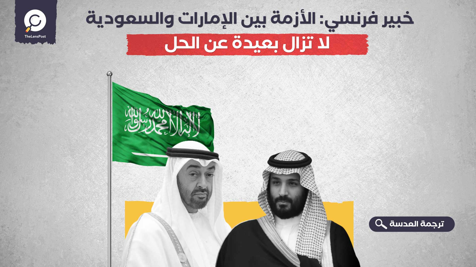 خبير فرنسي: الأزمة بين الإمارات والسعودية لا تزال بعيدة عن الحل