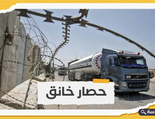 الاحتلال يمنع إدخال الوقود إلى محطة كهرباء غزة