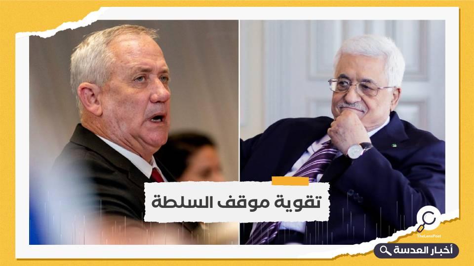 لقاء بين عباس ووزير الحرب الإسرائيلي في رام الله