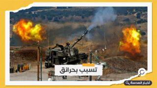 جيش الاحتلال يقصف مواقع جنوب لبنان
