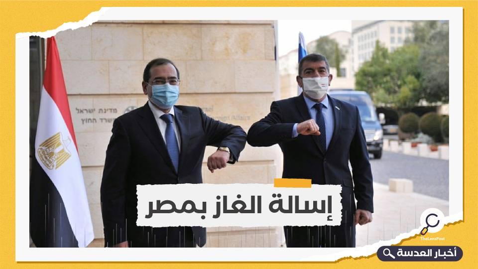 مباحثات مصرية-إسرائيلية للتعاون في مجال الغاز