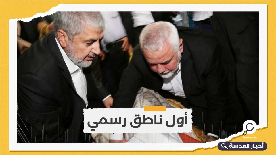 """هنية ومشعل في الأردن لتشييع قيادي تاريخي لـ""""حماس"""""""