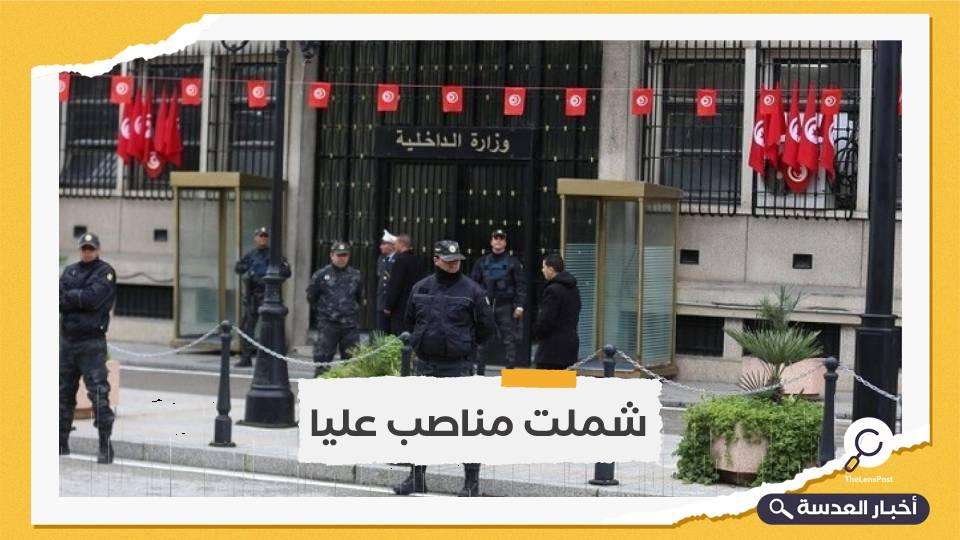 تعيين 6 قيادات جديدة بوزارة الداخلية التونسية