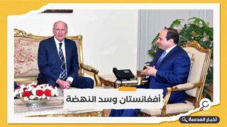 السيسي يلتقي مدير المخابرات الأمريكية بالقاهرة
