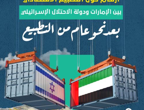أرقام حول التطبيع الاقتصادي بين الاحتلال والإمارات