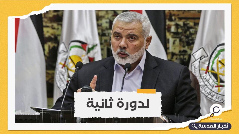 """حماس تعيد انتخاب """"إسماعيل هنية"""" رئيسًا لمكتبها السياسي"""