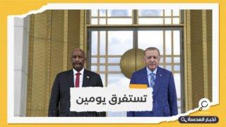 السودان.. البرهان يزور تركيا بدعوة من أردوغان