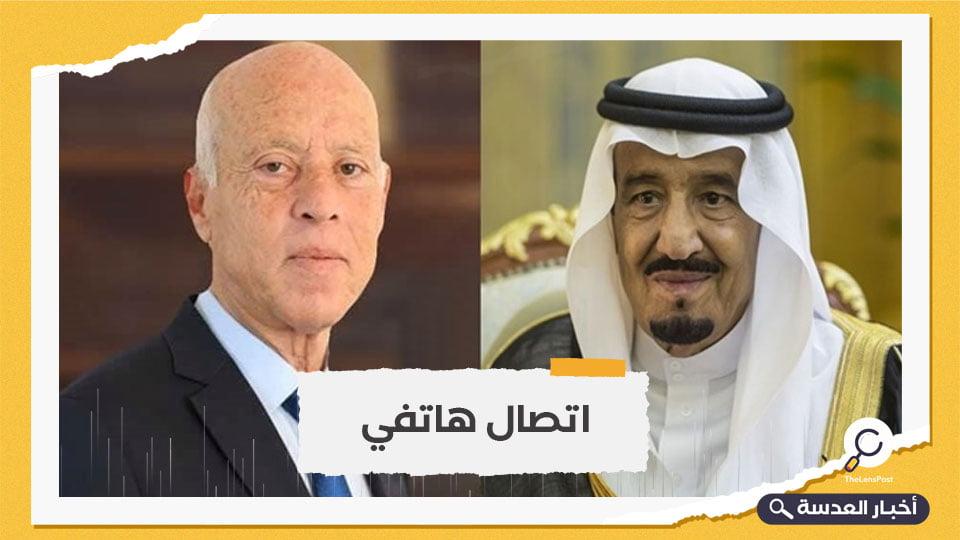 """الملك سلمان """"يبارك"""" قرارات الرئيس التونسي"""