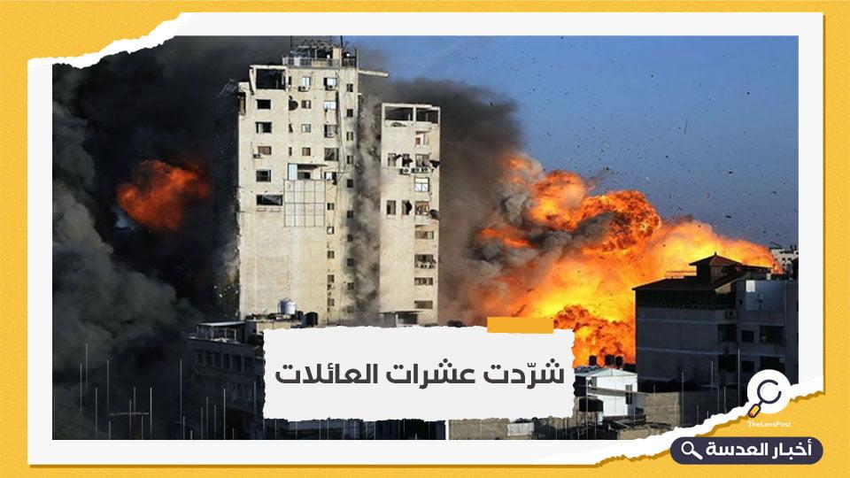 هيومن رايتس ووتش: تدمير الأبراج بغزة قد يرقى إلى جرائم حرب