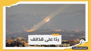 الكيان الصهيوني يجدد قصف مواقع في لبنان