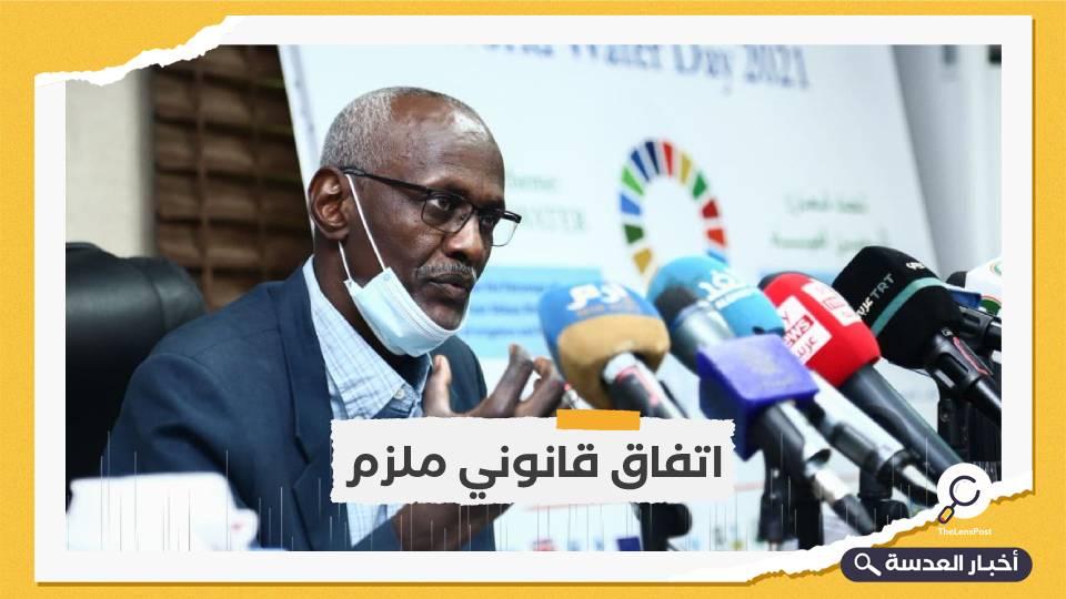 السودان: مواصلة بناء سد النهضة تهديد مباشر لنا