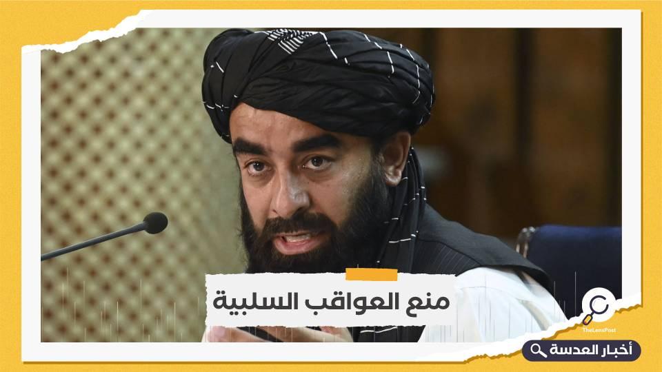 طالبان تحذر أمريكا من انتهاك المجال الجوي الأفغاني