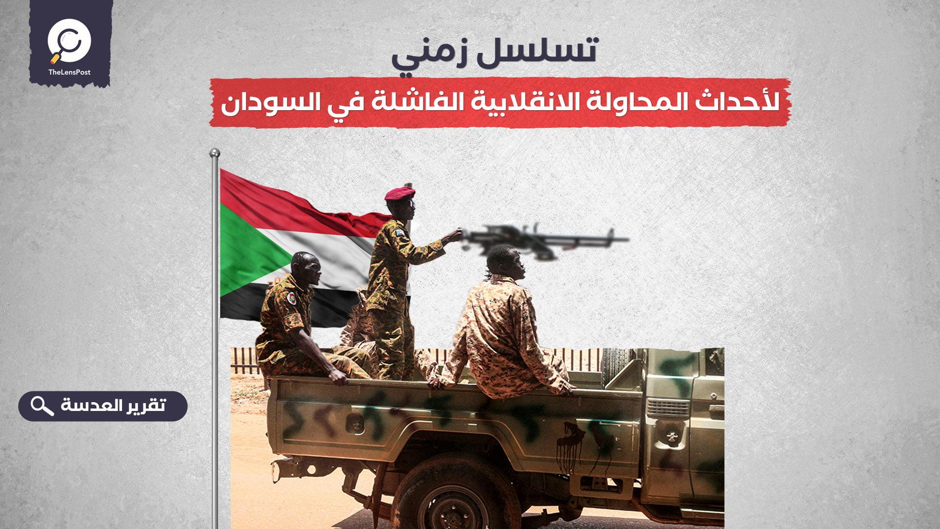 تسلسل زمني لأحداث المحاولة الانقلابية الفاشلة في السودان