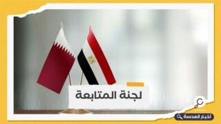 اجتماع مصري-قطري لبحث سبل تعزيز العلاقات