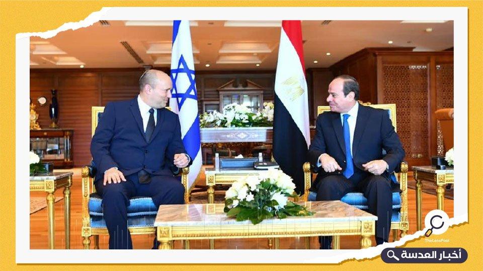 لأول مرة منذ 10 سنوات.. رئيس وزراء الكيان الصهيوني في مصر