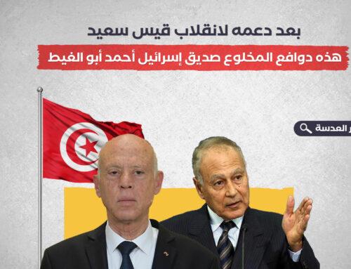 بعد دعمه لانقلاب قيس سعيد.. هذه دوافع المخلوع صديق إسرائيل أحمد أبو الغيط