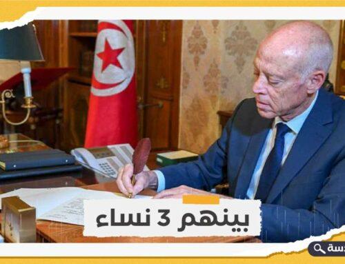 تونس.. قيس سعيد يعيّن 4 مستشارين لرئيسة الحكومة