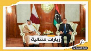 الدبيبة في قطر لبحث التعاون بمجالات الطاقة والاستثمار
