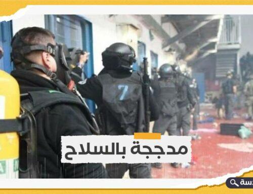 قوات الاحتلال تعتدي على 90 أسيرًا فلسطينيًا في سجن جلبوع