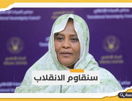 السودان.. وزيرة الخارجية ترفض الانقلاب على الحكومة