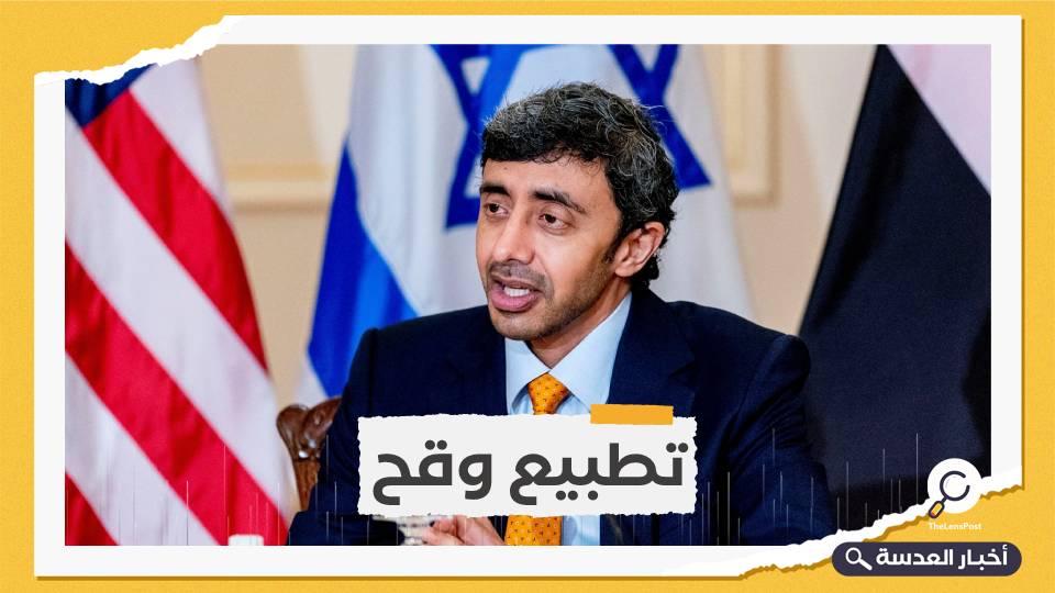 وزير خارجية الإمارات يزور دولة الاحتلال قريبًا