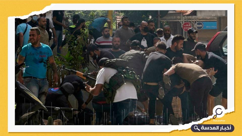 بالصواريخ والرشاشات.. اشتباكات عنيفة بشوارع لبنان وسقوط قتلى ومصابين